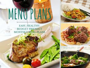 menu plans