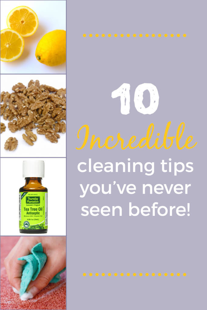 10 INCREDIBLE cleaning tips youve never seen before