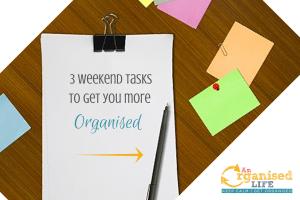 get more organised