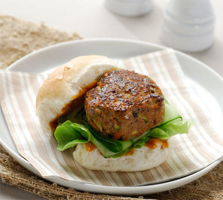 {Recipe} Turkey Burgers