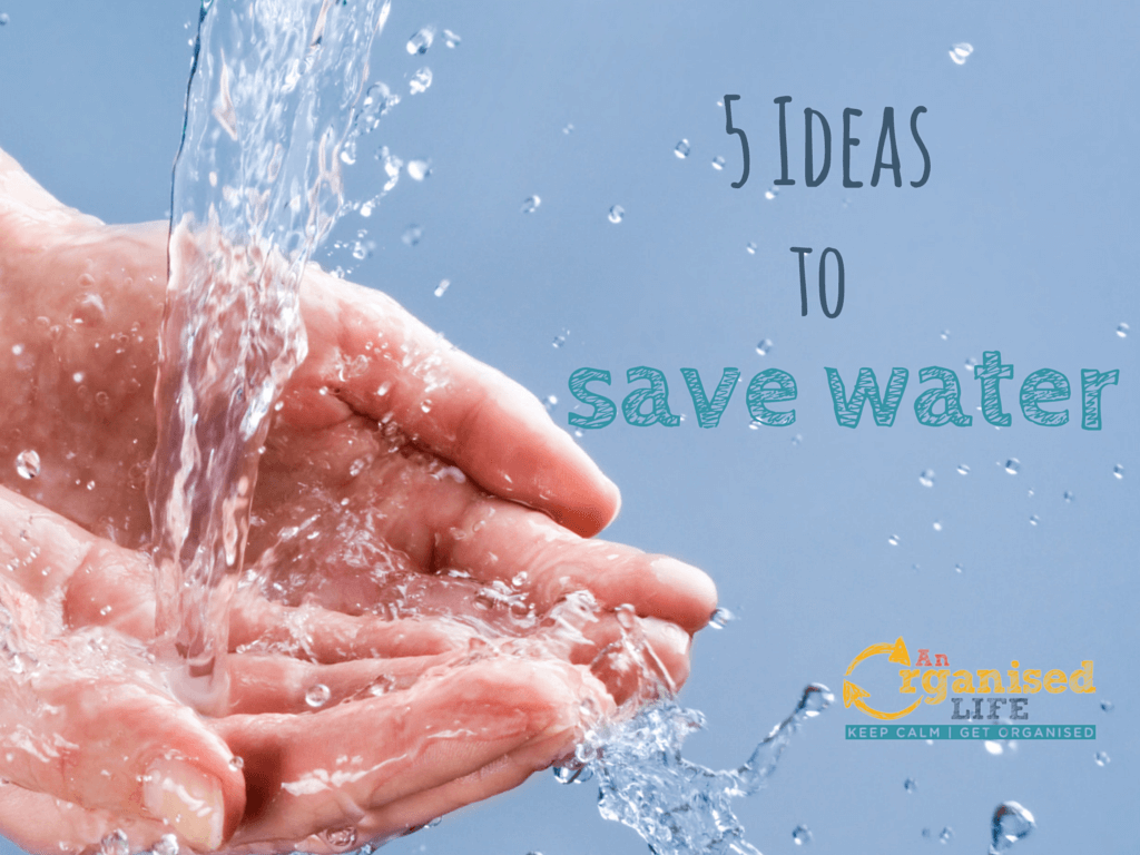 5 Ideas to Save Water