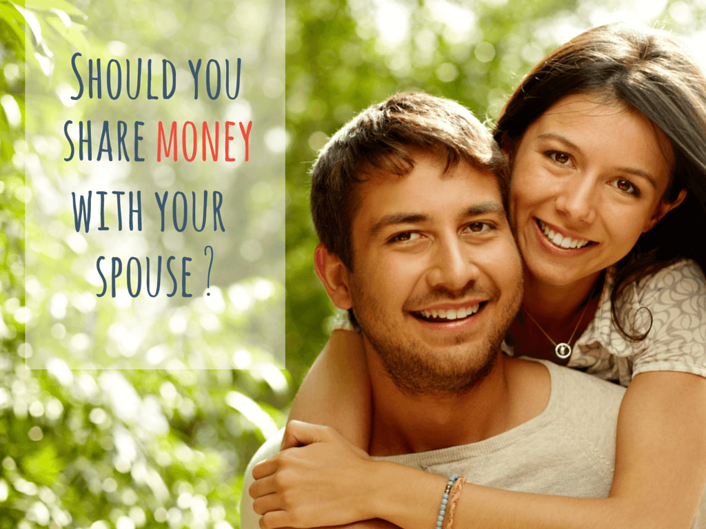 Should you share money with your spouse?