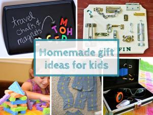 Homemade giftideas for kids