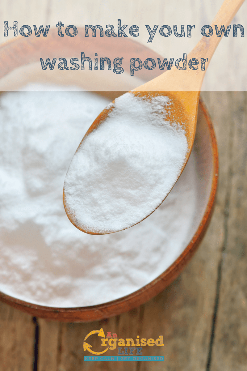 How to Make Your Own Washing Powder