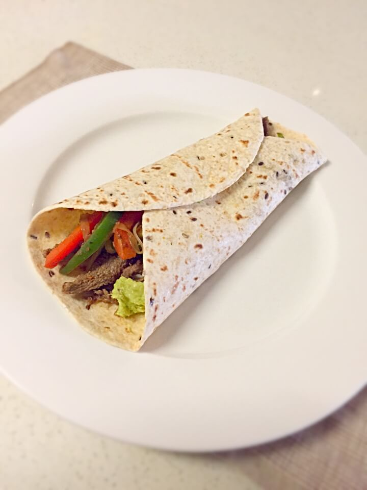 Beef Fajita Wrap recipe