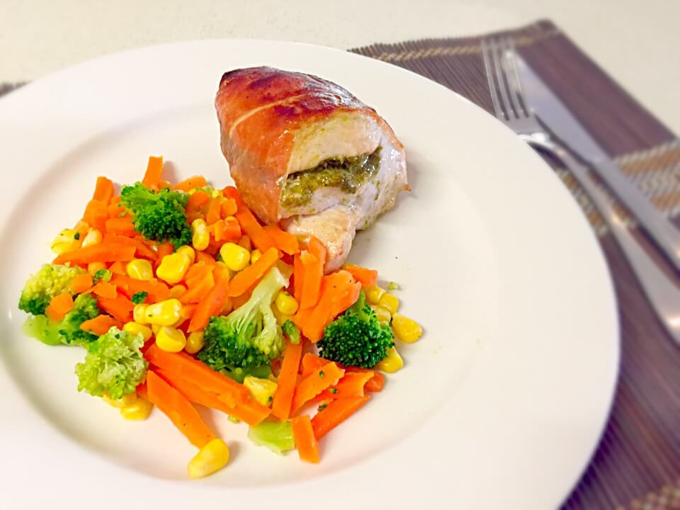 Pesto Stuffed Chicken Breast Recipe