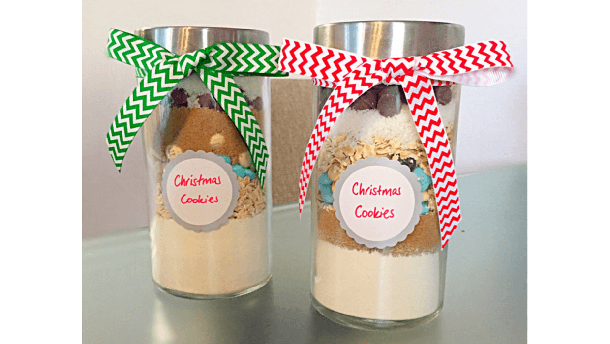 How to make Christmas cookie jars