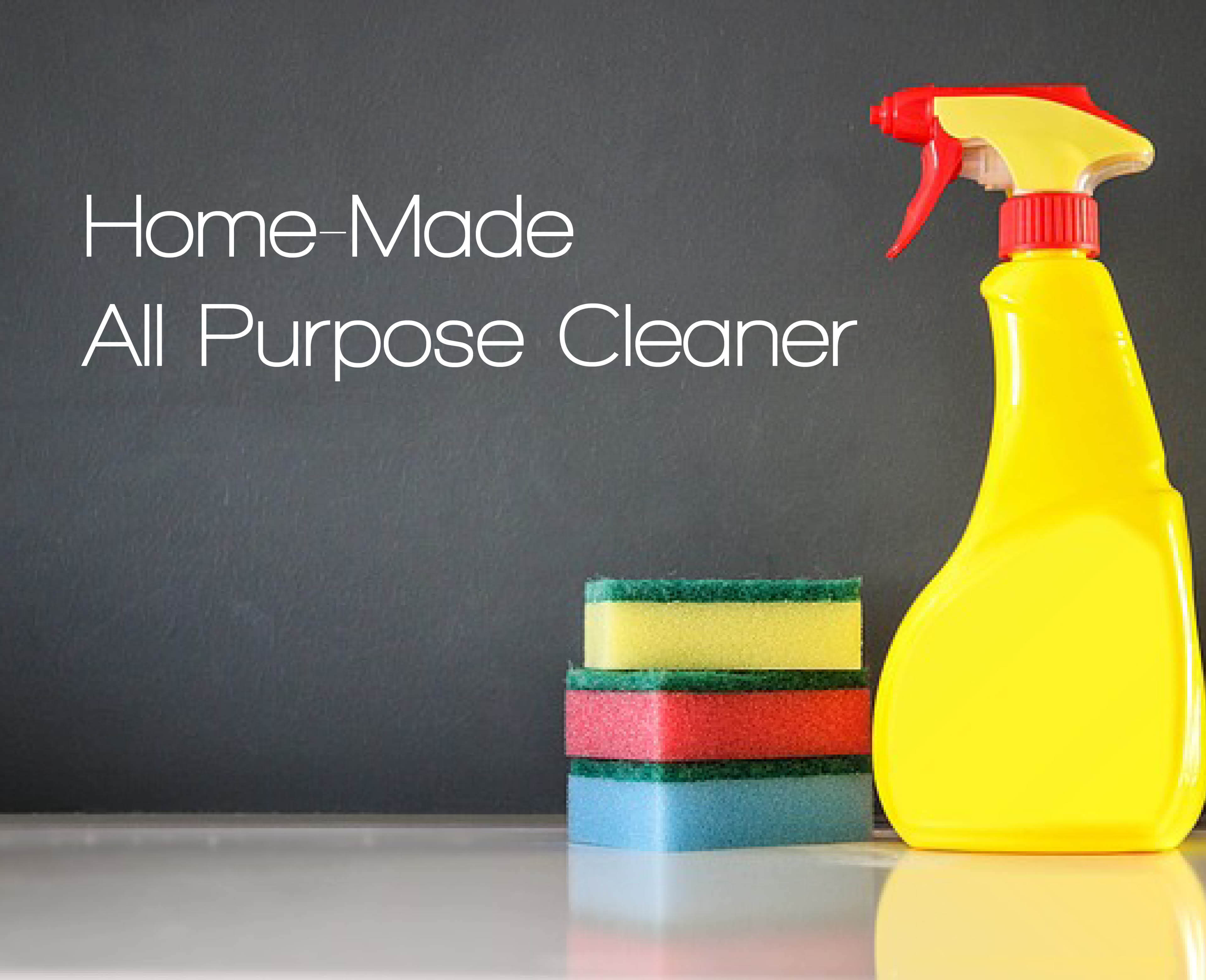 How to make a natural all purpose cleaner
