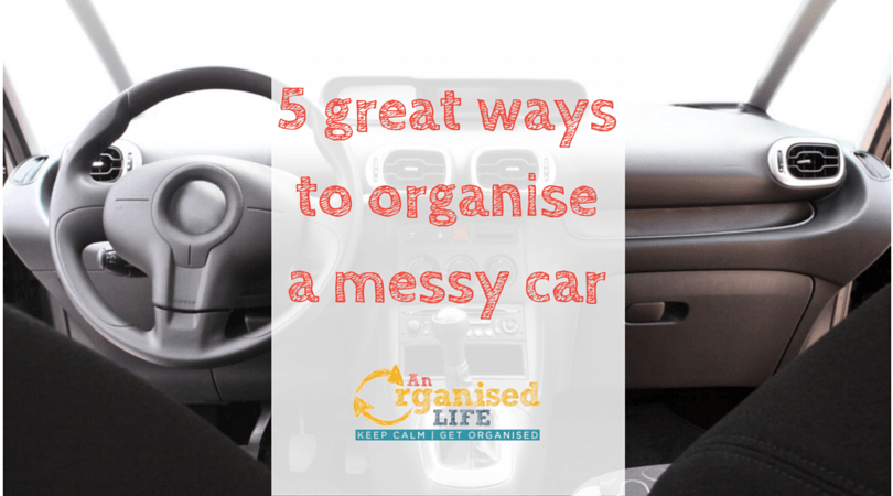 5 great ways to organise a messy car