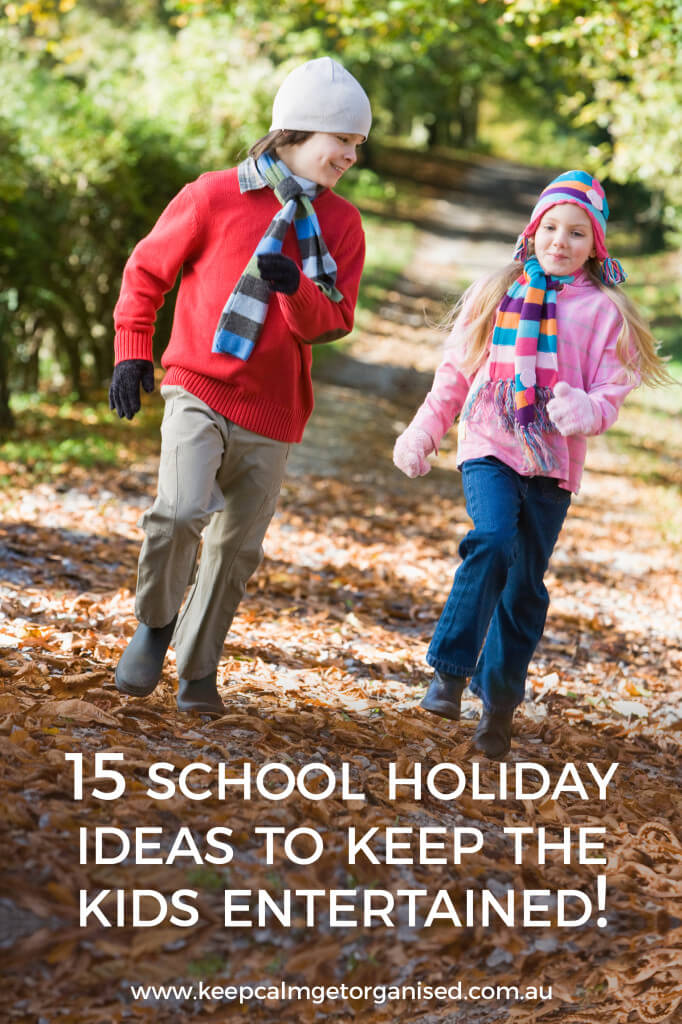 15 school holiday ideas to keep the kids entertained.
