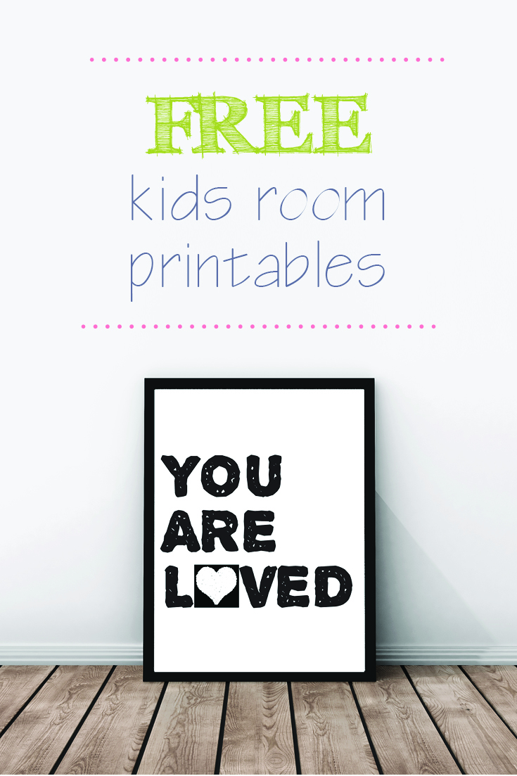free kids room printable 2 - Prints For Kids
