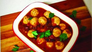Moroccan turkey meatballs