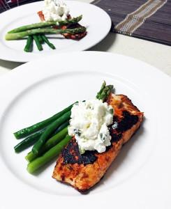 easy salmon tandoori