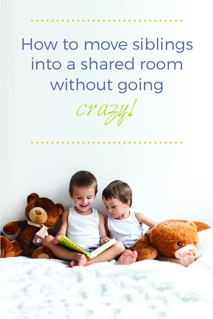 how to move siblings into a shared room without going crazy