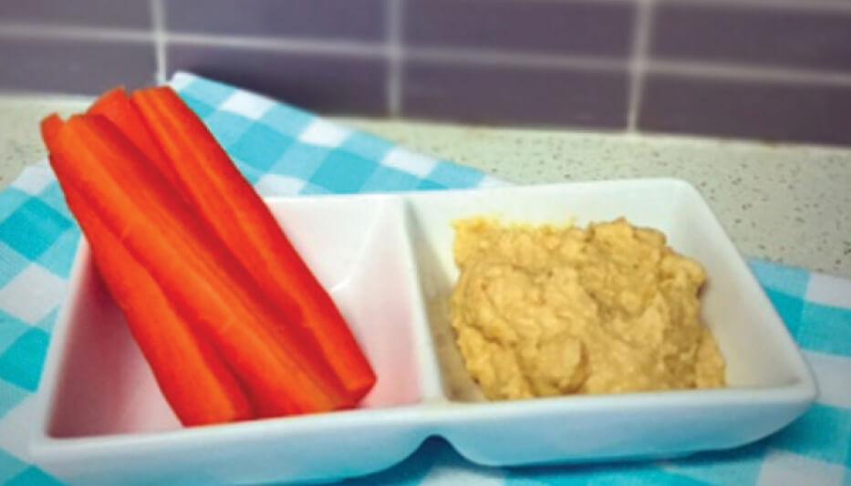 Easy home made hummus recipe
