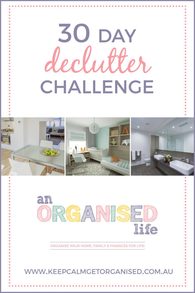 30 day declutter challenge new