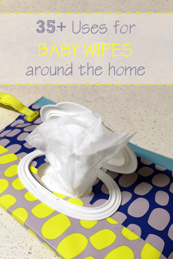 35 uses for baby wipes around the home