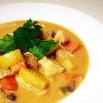 Satay chicken curry featured image