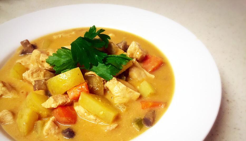 Chicken Satay Curry Recipe