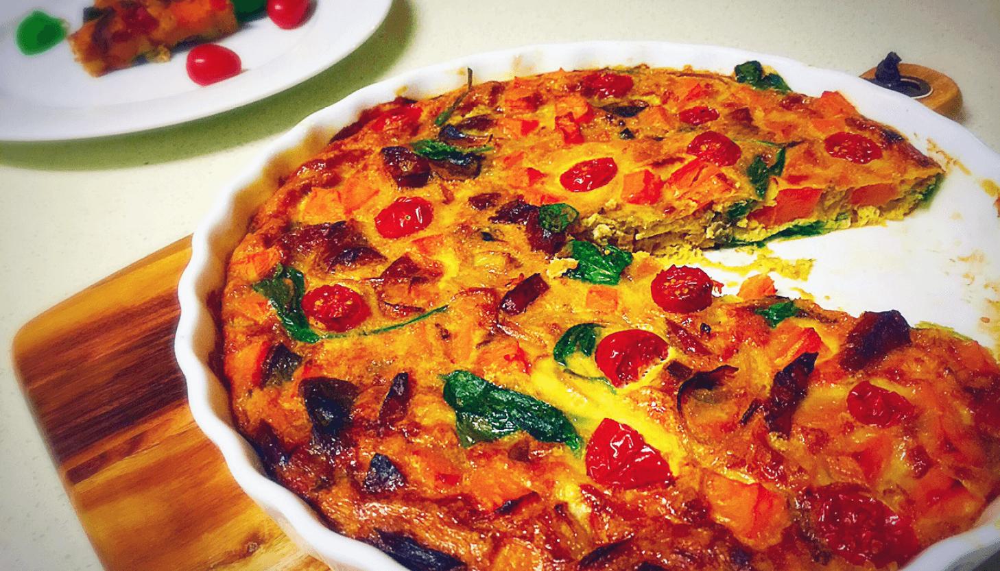 Chorizo fritatta recipe