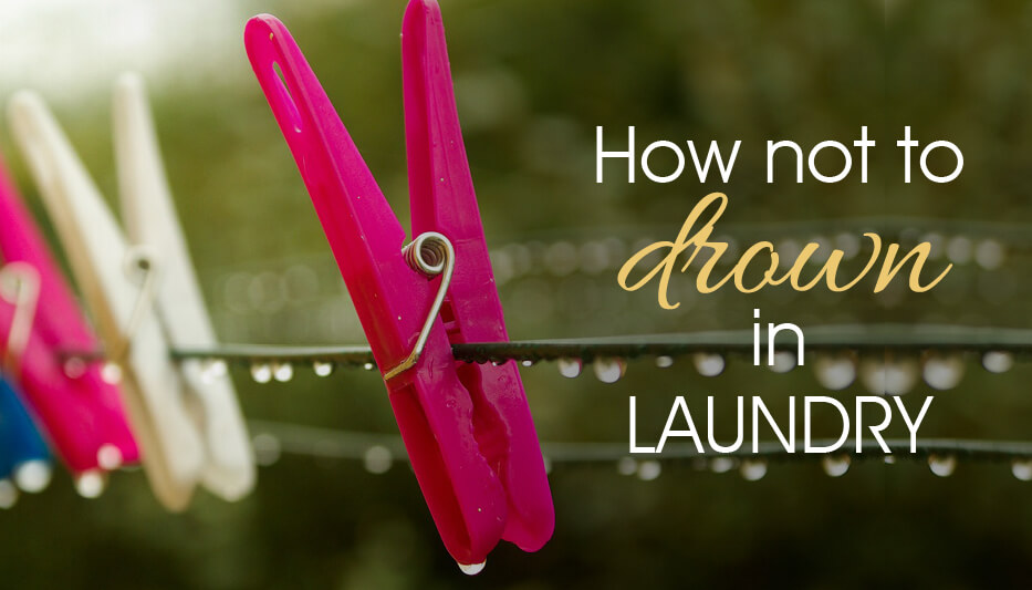 Top tips to keep your laundry under control