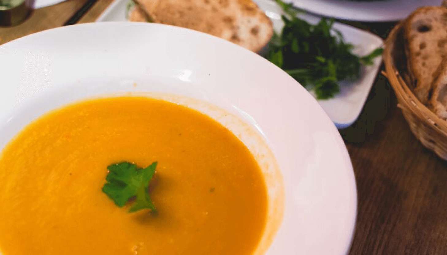 The Best Slow Cooker Pumpkin Soup
