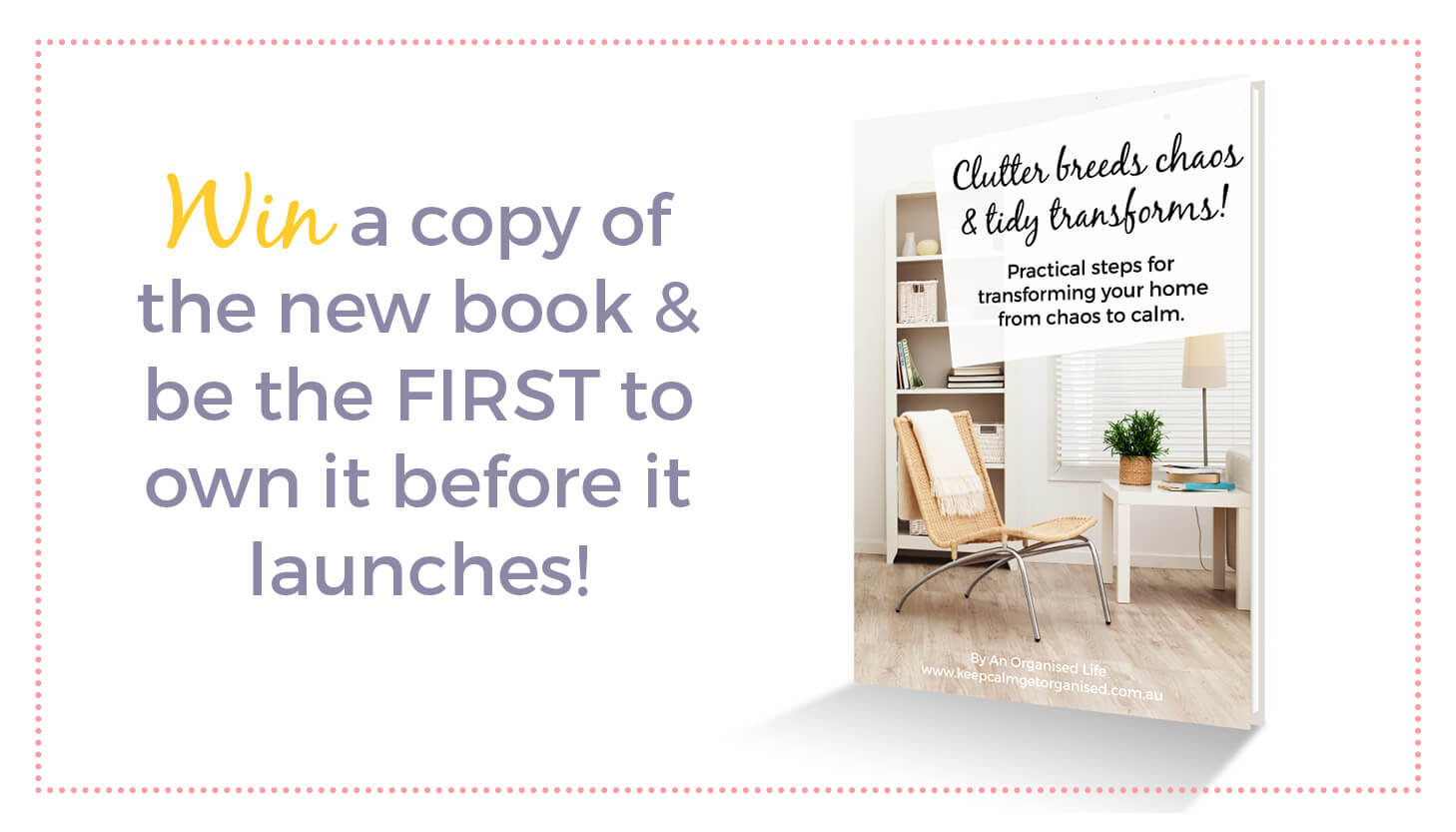 WIN a copy of the new eBook launching tomorrow!