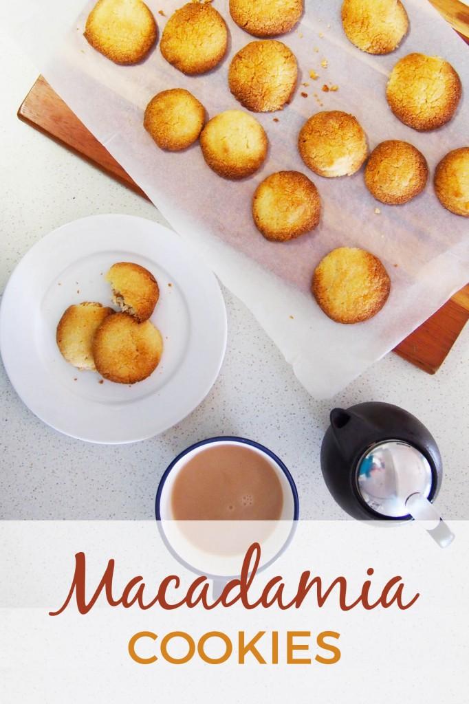 Macadamia cookies recipe