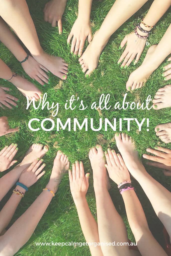Why blogging is all about community
