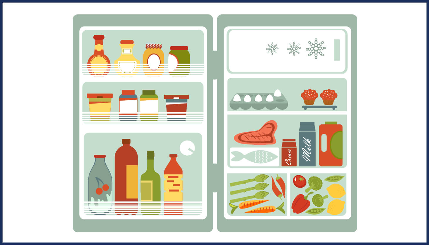 How long can you keep food in the freezer (with infographic)?