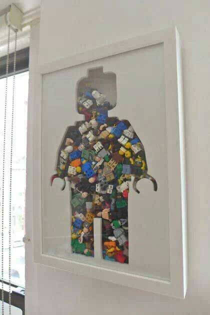 Lego Storage Ideas - Lego Artwork