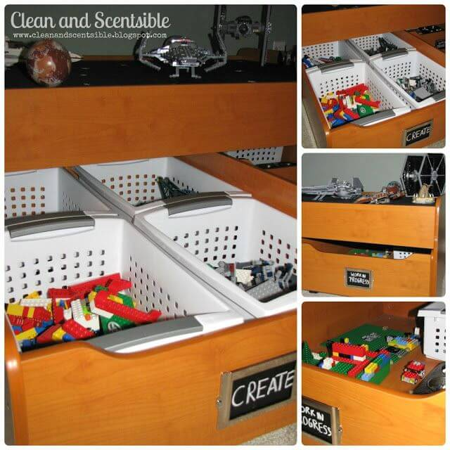 Lego Diy Box. Clean And Scentsible