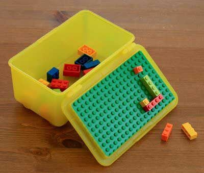 Lego Storage Ideas - Lunch box