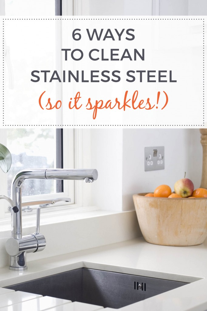 how to clean stainless steel so it sparkles 6 ways. Black Bedroom Furniture Sets. Home Design Ideas