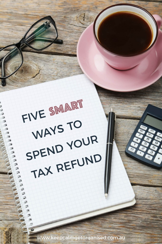 Image what to do with your tax refund