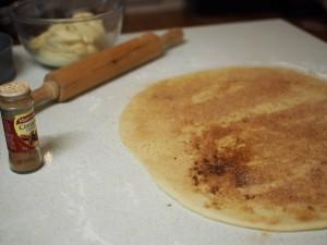 cinnamon scrolls dough