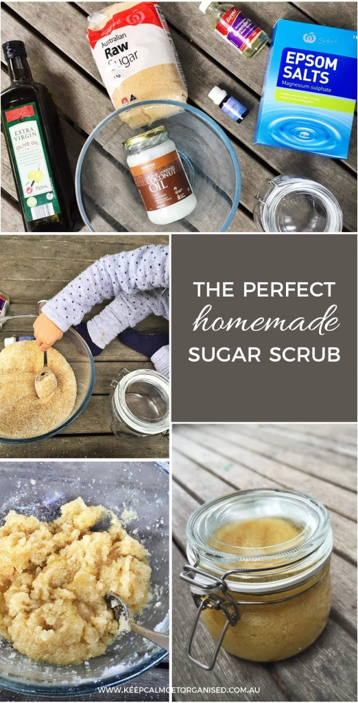 The perfect homemade sugar scrub recipe