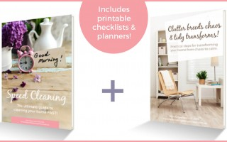 Decluttering & Speed Cleaning eBooks OUT NOW!