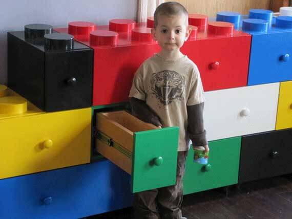 Lego Storage Ideas - lego drawers
