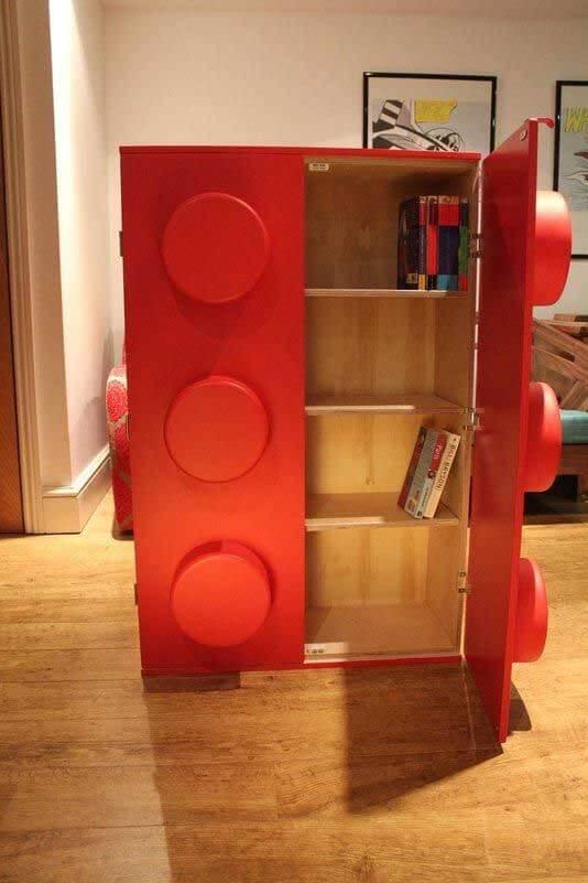 Lego Storage Ideas - lego cupboard