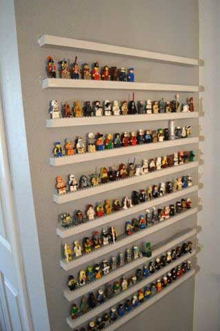 Lego Storage Ideas - Lego man storage unit