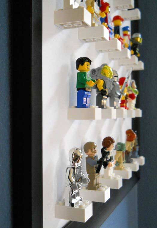 Lego Storage Ideas   Lego Man Storage Unit