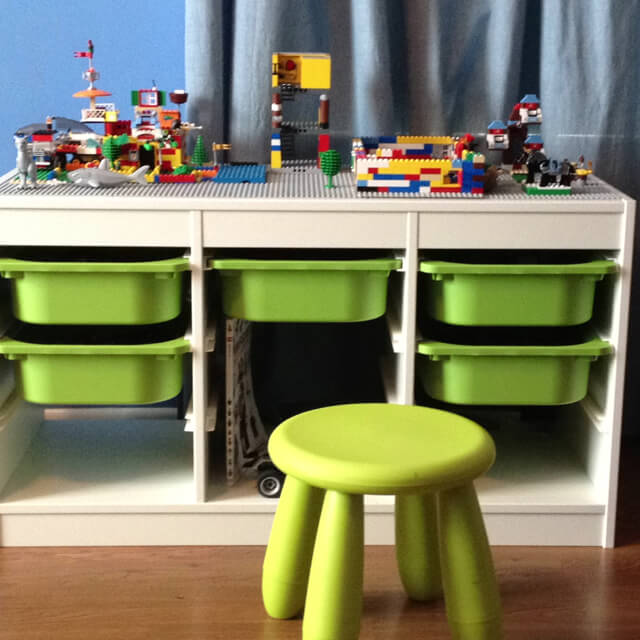 ikea trofast storage for lego & Lego Tables: Ikea hacks u0026 storage | Keep Calm Get Organised