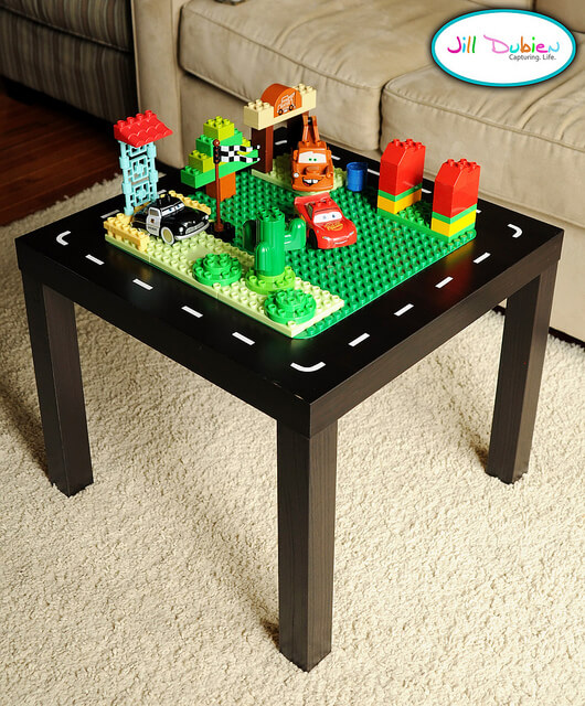 lego tables ikea hacks storage keep calm get organised. Black Bedroom Furniture Sets. Home Design Ideas