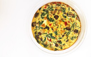 Roasted Vegetable Frittata Recipe