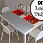 Lego Tables: Ikea hacks and storage ideas