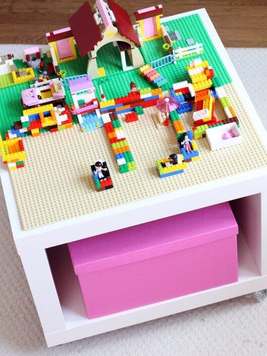 Lego Tables Ikea Hacks Amp Storage Keep Calm Get Organised