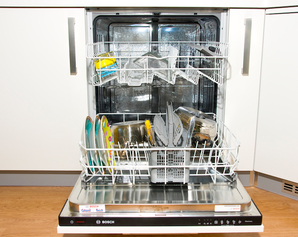 deep clean dishwasher