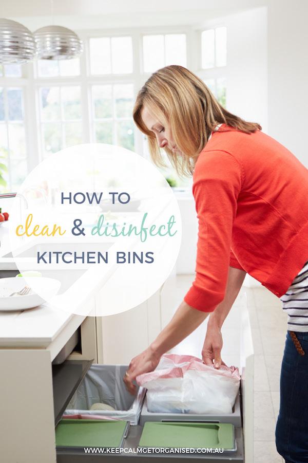 How To Clean Kitchen Bins