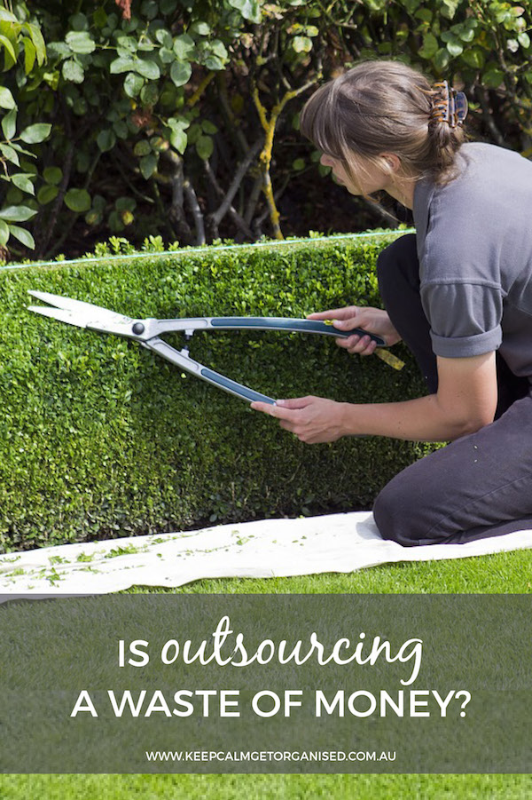 is outsourcing a waste of money
